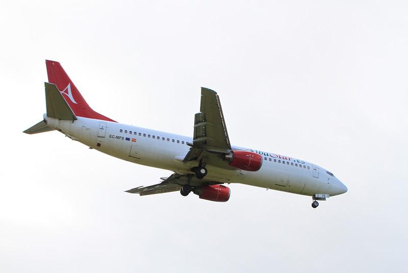 EC-MFS Alba Star Airlines