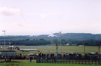 """Positive rate of climb, gear up!""   G-BOAE climbs away from Edinburgh on its last ever flight in service back to Heathrow. Truly the end of an era as Concorde flies into history. An icon of British design and engineering (ok the French did a bit too), surpassed by none, is gone. Farewell!"