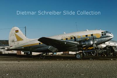1990-08 CP-1617 Curtiss C46A-55-CK (c/n 253) Eldorado