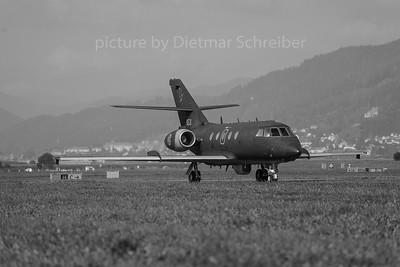 2016-09-01 053 Falcon 20 Norwegian Air Force
