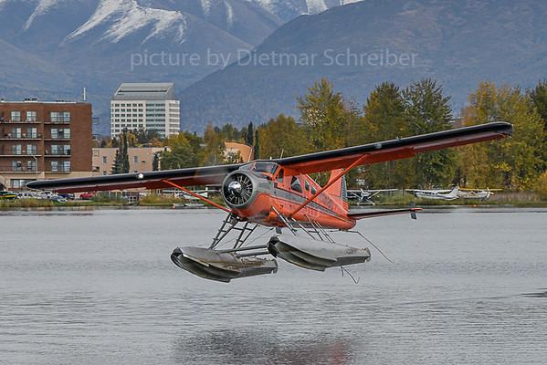 2019-09-27 N1018D Beaver Alaska by Air