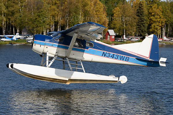 2019-09-23 N343WB Beaver