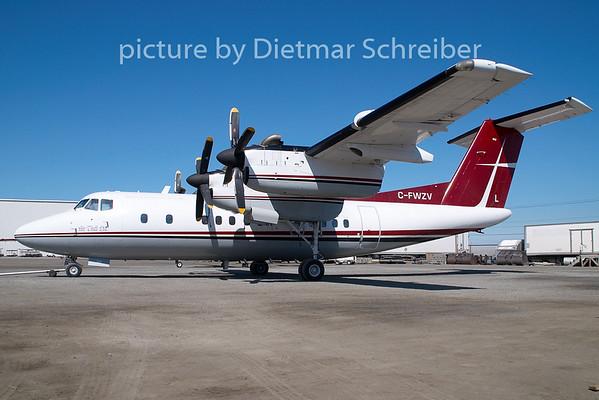 2009-05-29 C-FWZV Dash 7 Air Tindy