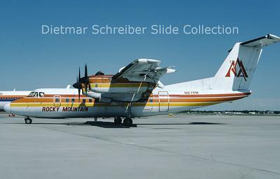 1986-06 N67RM DHC Dash 7-100 (c/n 037) Rocky Mountain