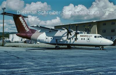 N678MA DHC Dash 7-100 (c/n 012) Markair