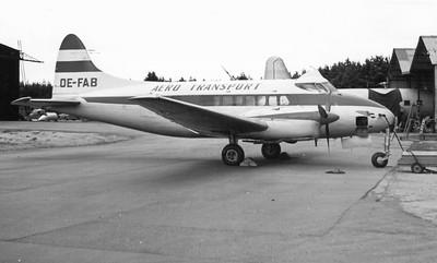 OE-FAB DH104 Dove Aerotransport