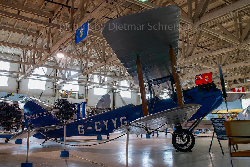 2007-04-27 G-CYYG De Havilland DH60 Moth