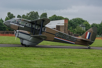 2018-06-08 G-AGJG De Havilland DH89 Dragon Rapide