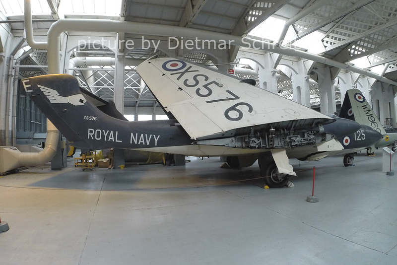 2014-02-23 XS567 De Havilland DH-110 Sea Vixen
