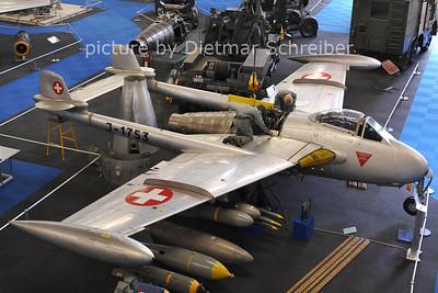 2011-06-11 J-1753 Vampire Swiss Air Force