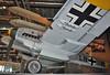 """Deutsches Technikmuseum Berlin on September 12, 2012. Luftwaffe Messerschmitt Bf 110F-2/trop """"LN+NR"""" (Werknummer 5052). This aircraft served with 13.(Z)7JG 5 """"Eismeer"""", the famous """"Dackelstaffel"""""""