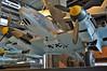 """Deutsches Technikmuseum Berlin on September 12, 2012. Luftwaffe Messerschmitt Bf 110F-2/trop """"LN+NR"""" (Werknummer 5052). This aircraft served with 13.(Z)/JG 5 """"Eismeer"""", the famous """"Dackelstaffel""""."""