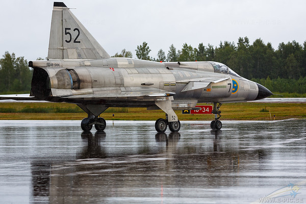 Saab AJS 37 Viggen, Swedish Air Force, no 37098