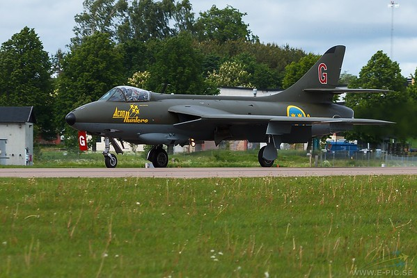 J-34 Hawker Hunter F.58