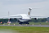 IL-76MD take of with early retraction of undercarriage wich caused several tires to blow