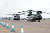 Helicopters at RIAT 2011
