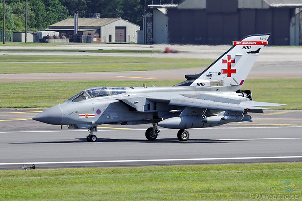 Tornado GR4 from 41 squadron at Coningsby