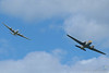 Riley Turbo Skyliner (DH-114) & C-47 Skytrain Formation<br /> Västerås Roll out 2011, F1