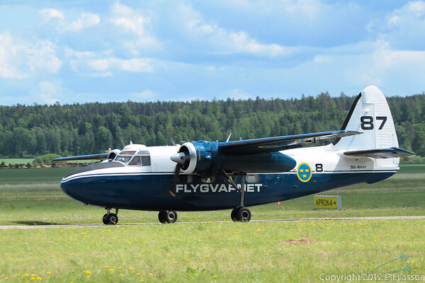 Hunting Percival P-66 Pembroke C1<br /> Västerås Roll out 2011, F1