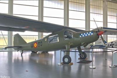 Dornier Do27    27-1003-408  EC-CHN in colors of Fundación Aérea de la Comunidad Valenciana Dornier Museum, Friedrichshafen.   08/24/18 This work is licensed under a Creative Commons Attribution- NonCommercial 4.0 International License.