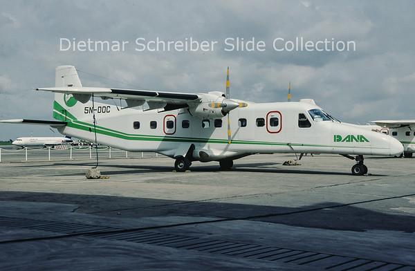 2002-02 5N-DOC Dornier Do228-201 (c/n 8041) Dana Air