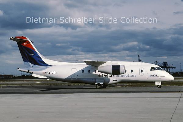 2001-10 N417FJ Dornier Do328-300 (c/n 3174) Atlantic Coast Airlines