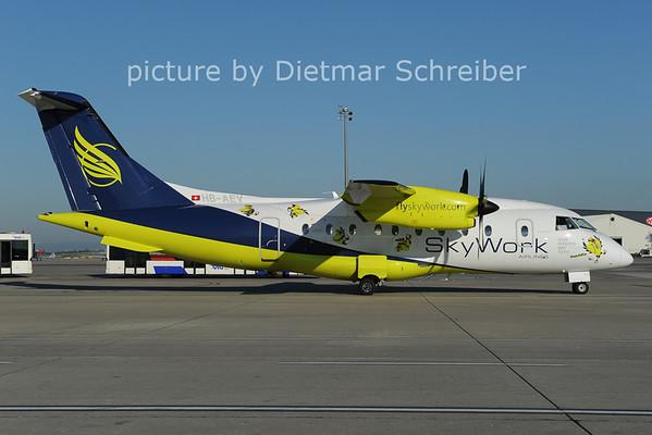 2012-08-20 HB-AEV Dornier 328 Skywork