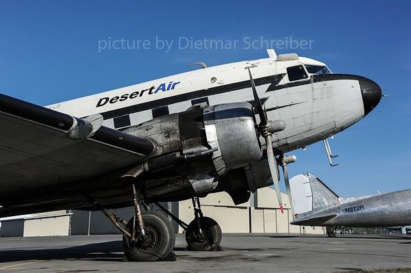2013-06-07 N44587 Douglas DC3 Desert Air