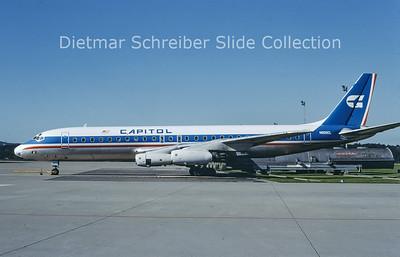 N905CL Douglas DC8-31 (c/n 45274) Capitol Airlines