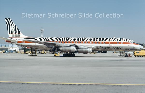 1974-09-28 5Y-ASA Douglas DC8-33 (c/n 45379) African Safari
