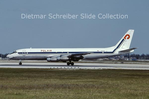 N715UA Douglas DC8-30 Polair
