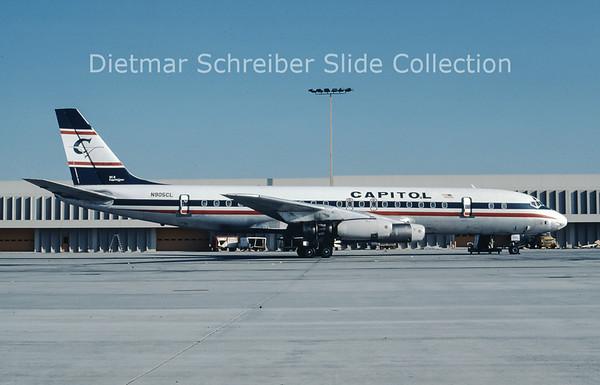 1977-12-15 N905CL Douglas DC8-31 (c/n 45274) Capitol Airlines