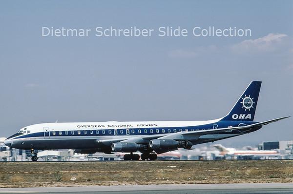 N831F Douglas DC8-32F (c/n 45606) Overseas National