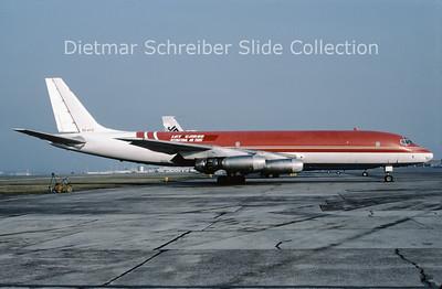1986-02 5N-AYZ Douglas DC8-33F (c/n 45421) IAT Cargo