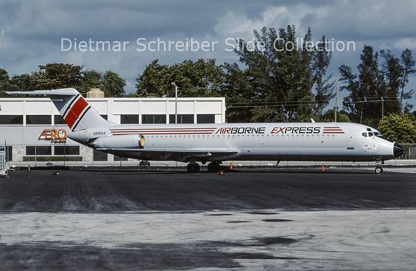 1996-12 N990AX Douglas DC9-41 (c/n 47493) Airborne Express
