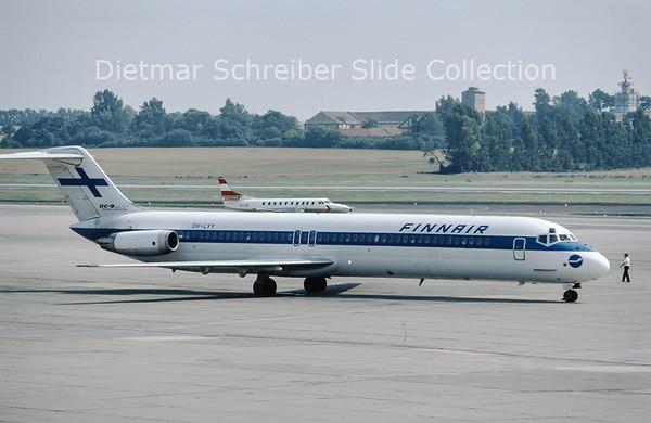 OH-LYY Douglas DC9-51 (c/n 48135) Finnair