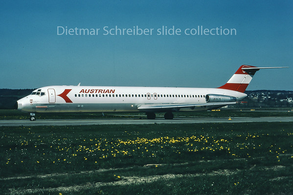 1981-06 OE-LDN Douglas DC9-50 Austrian Airlines