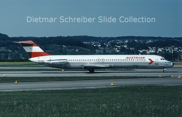 OE-LDO Douglas DC9-51 (c/n 47756) Austrian Airlines