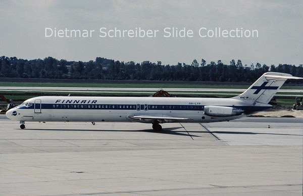 OH-LYP Douglas DC9-51 (c/n 47696) Finnair