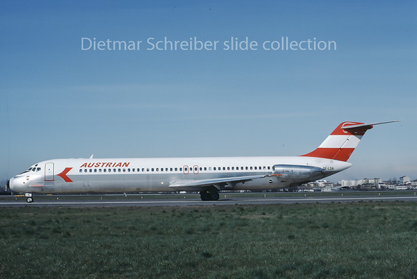 1978-03 OE-LDN Douglas DC9-50 Austrian Airlines