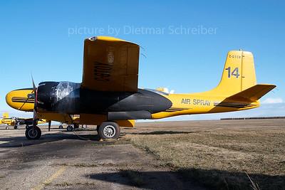 2007-04-28 C-GTGX Douglas A26 Invader Air Spray