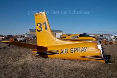 2007-04-28 C-GHCC Douglas A26 Invader Air Spray