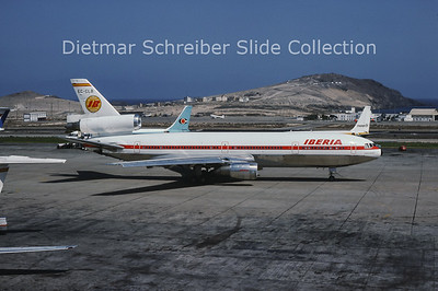 1976-10 EC-CLB MDD DC10-30 (c/n 47981) Iberia