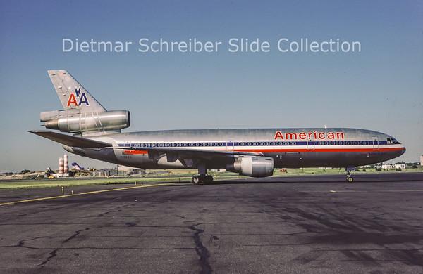 1986-07 N112AA MDD DC10-10 (c/n 46512) American Airlines