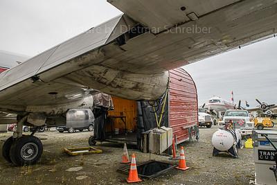 2019-09-24 N3054V Douglas DC4 Alaska AIr Fuel