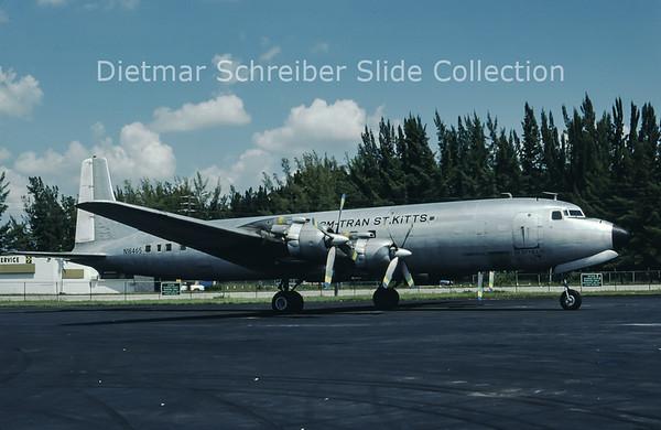 1980-09 N16465 Douglas DC-7C (c/n 45120) Com-Tran