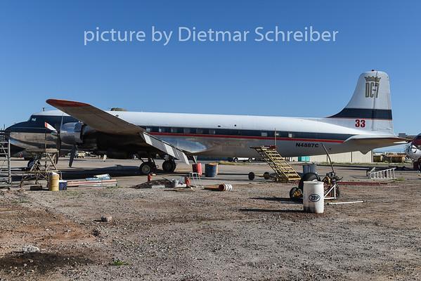 2015-02-07 N4887C Douglas DC7