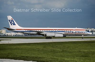 1990-10 N1805 Douglas DC8-62 (c/n 45899) Rich International