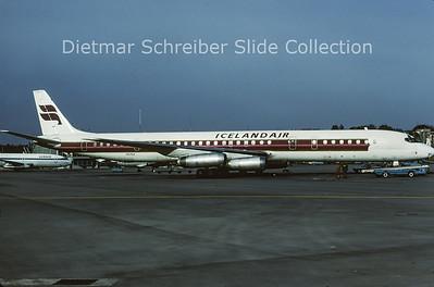 1981-11 HS-TGX Douglas DC8-63 (c/n 45923) Icelandair