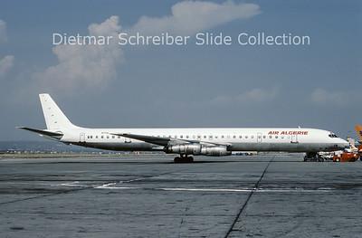 1987-09 N27UA Douglas DC8-61F (c/n 45942) Air Algerie
